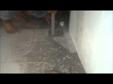 Diy Cara Membaiki Floor Trap Yang Tersumbat