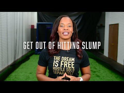 Getting Out Of A Softball Hitting Slump #Tashatips