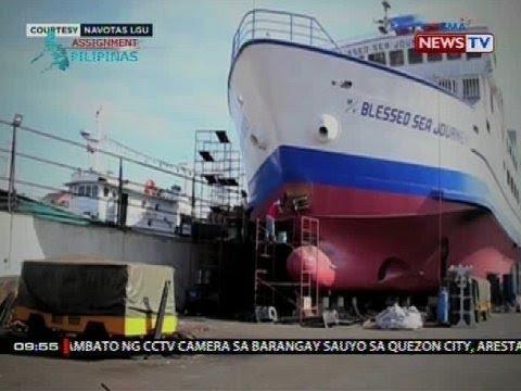 SONA: Navotas, nakikilala na rin sa paggawa ng mga barko