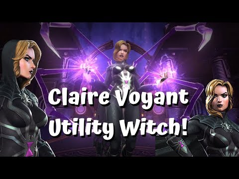 Claire Voyant Utility Witch! Insane Regen! - Marvel Contest Of Champions