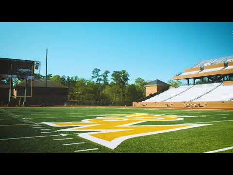 Serene Campus Scenes: Zable Stadium with LoFi