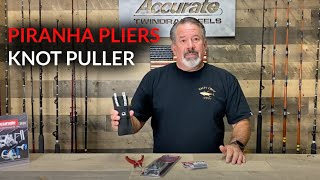 Free Sheath Promotion with Purchase of Piranha Pliers & Knot Puller