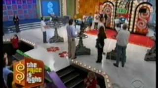 Technical Mishap on Price is Right -- Push Over/ Showcase showdown (Carey) -- Season 38