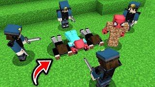 FAKİR MAFYALARI YAKALATTI! 😱 - Minecraft