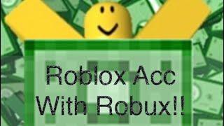 Dare via il mio Roblox Acc (HAS 309 ROBUX!) NON CLICKBAIT!!