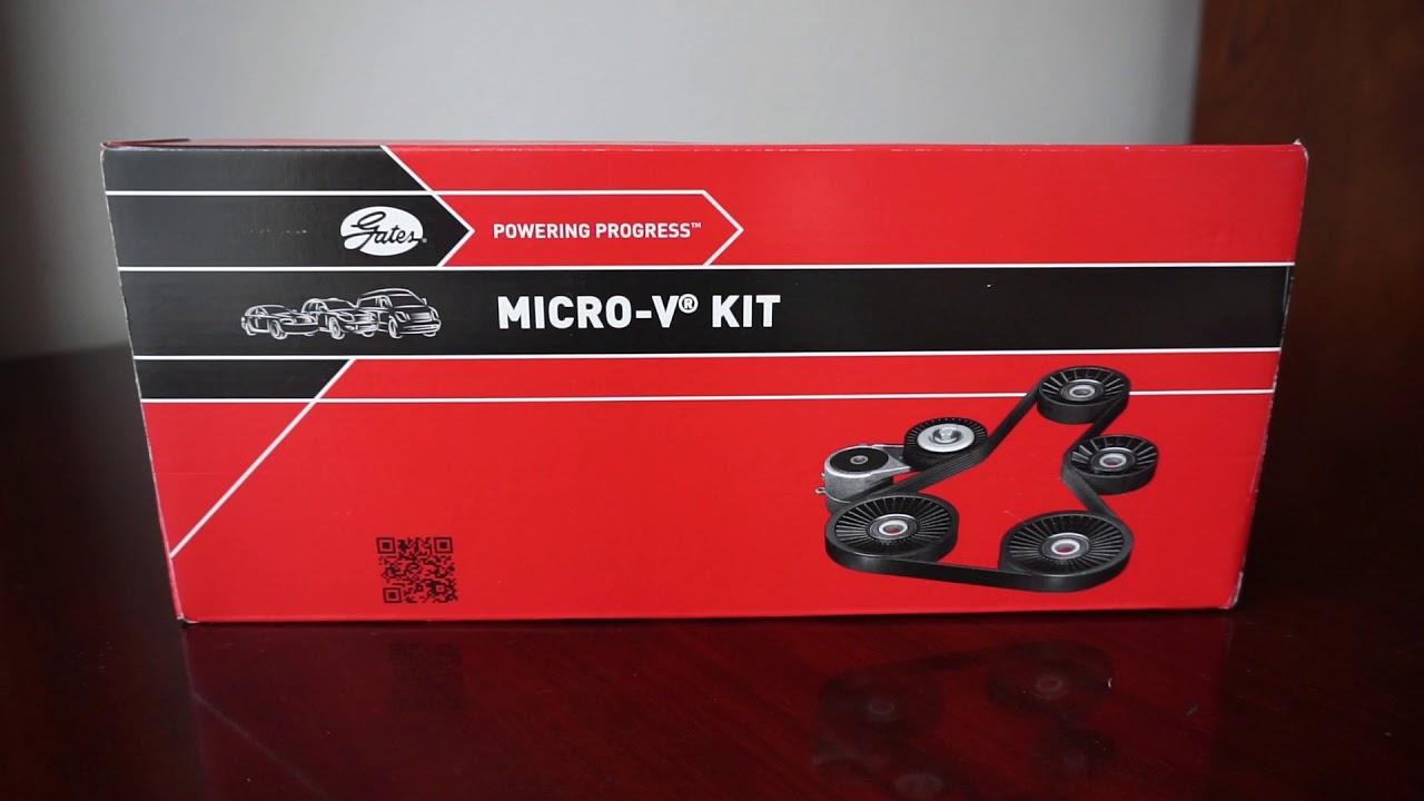 GatesKeilrippenriemensatz Micro-V® Kit für VW T5 CADDY 3 2K K036PK1138