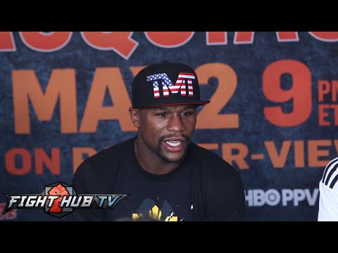 Floyd Mayweather on Pacquiao being small/reckless, PPV price, going old school & legacy