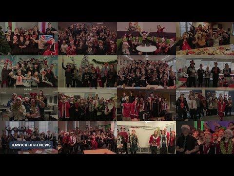 Hawick High School Sings Slade's Merry Christmas Everyone | 2017 Music Video