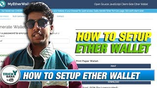 How to Setup an account on Myetherwallet