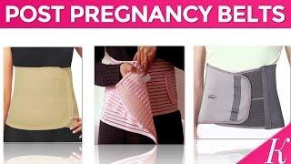 10 Best Postpartum Abdomen Shaper Belts in India with Price | Post Pregnancy Belts