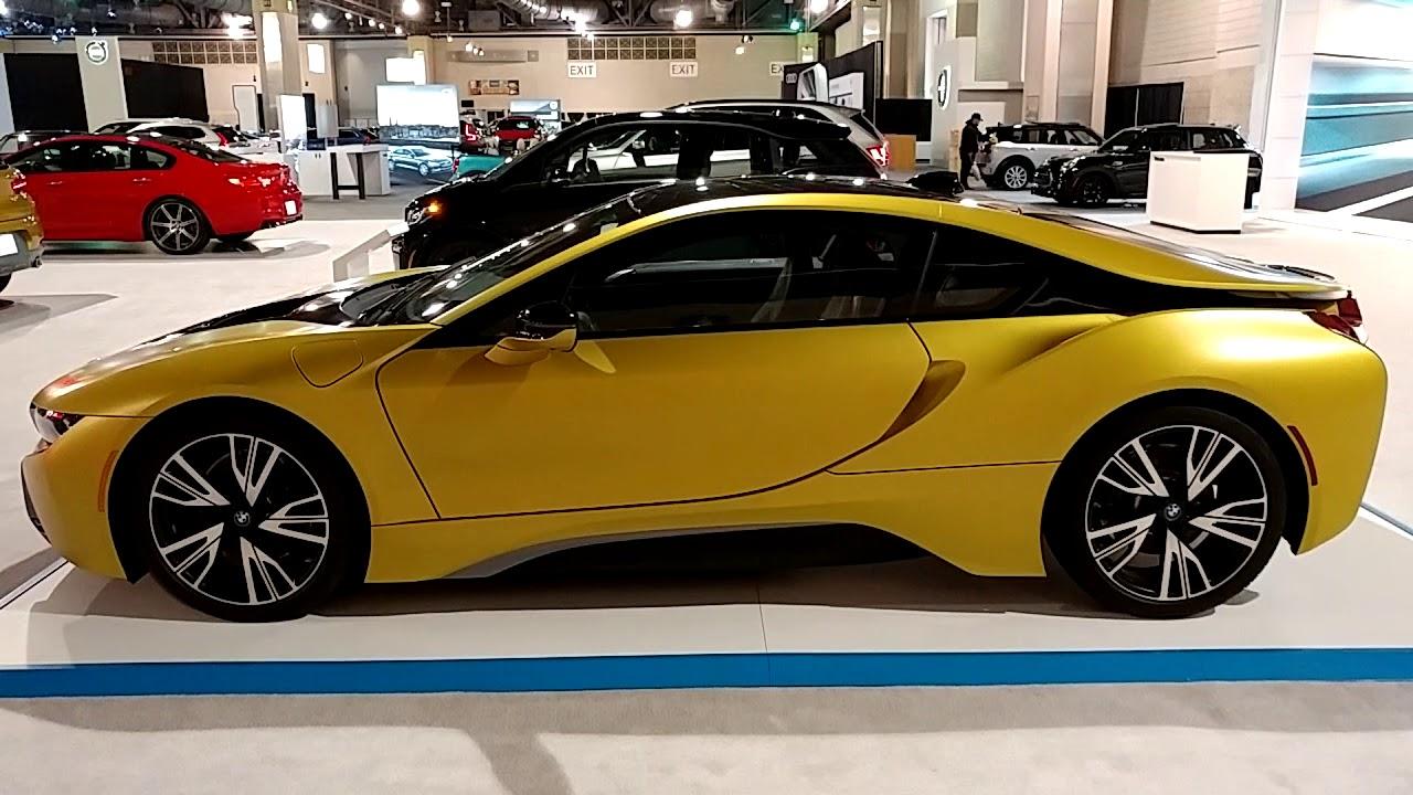 Bmw I8 Gold >> 2018 MATTE METALLIC GOLD BMW i8 @ PHILADELPHIA CONVENTION