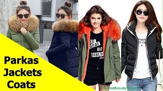 50 Beautiful Best Jackets, Coats, Parkas for Women S9