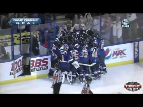 NHL Playoff Overtime Goals - 2013 First Round