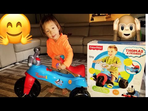 Thomas & Friends Tough Trike 2-5 Yrs Old: Unboxing & Test Run!