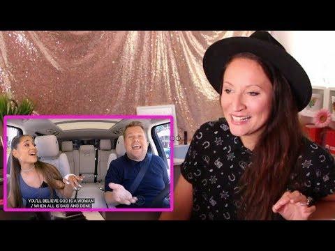 Vocal Coach REACTS to ARIANA GRANDE-CARPOOL KARAOKE