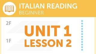 Italian Reading for Beginners - Reporting a Lost Item at the Station