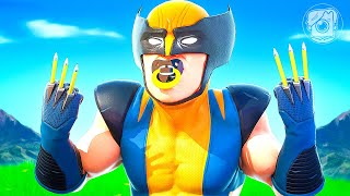 WOLVERINE HAS A BABY?! (A Fortnite Short Film)