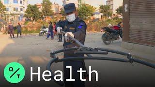 Virus Outbreak: How Police in Nepal Are Enforcing a Lockdown
