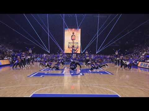 University of Kentucky Dance Team at Big Blue Madness 2017