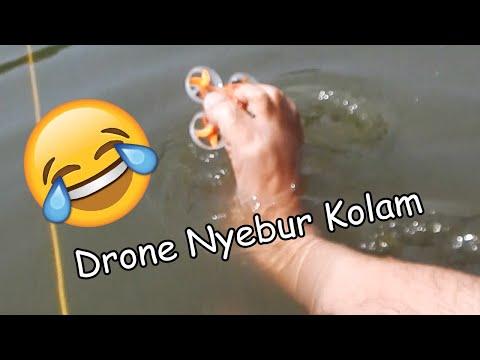 Drone Micin MDRI Favorit Gua Nyebur Di Kolam xD