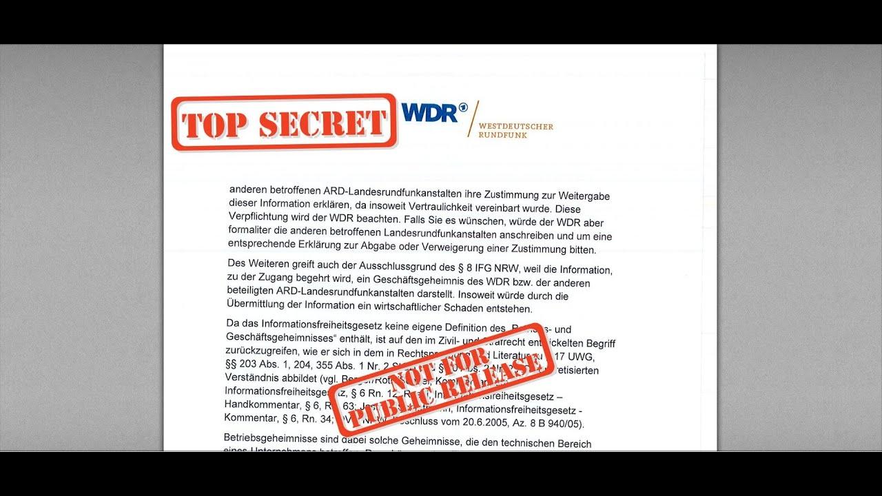 """""""Geschäftsgeheimnis"""": ARD schweigt sich zur Verfassungsbeschwerde aus"""