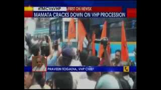 1000 VHP supporter  detained in West Bengal Raiganj