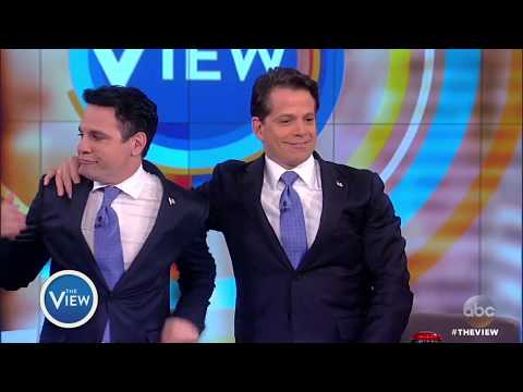 Mario Cantone Surprises Anthony Scaramucci  The View