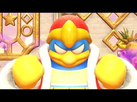Kirby Star Allies: Part 5 - Clash Of Castle Dedede 100% Walkthough (Nintendo Switch)
