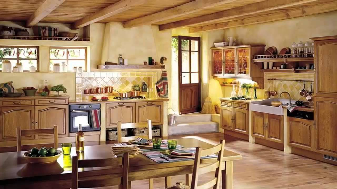 Country Style Kitchens 2013 Decorating Ideas: تصاميم مذهلة لـ مطابخ فرنسية جميلة