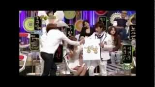 Yoona(SNSD) & Eunhyuk(Super Junior) Moments - StrongHeart Episode 4 - Stafaband