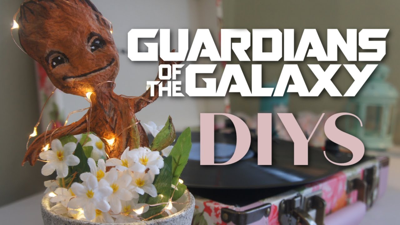 Not For The Faint Crafted Diy Guardians Of Galaxy Fandom Crafts
