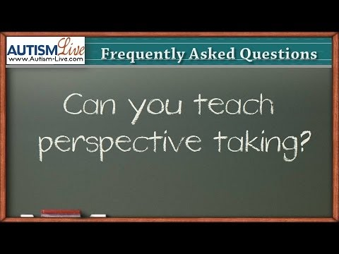 Can You Teach Perspective Taking?