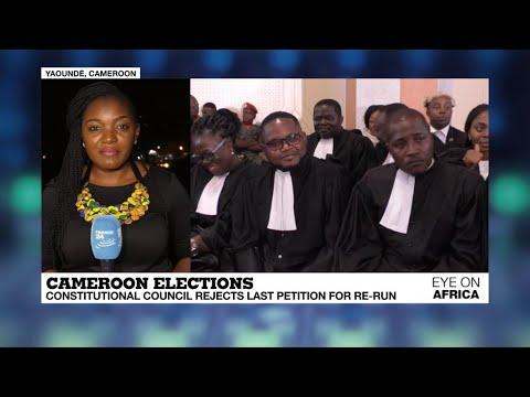 فرانس 24:Cameroon's Constitutional Court rejects last petition for re-run