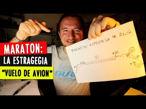 "MARATON: la ESTRATEGIA ""VUELO de AVION"" para correr los 42k"