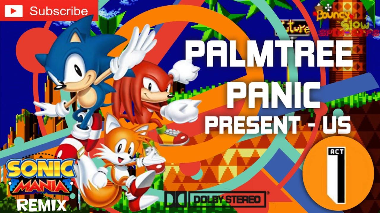 Sonic CD (US) - Palmtree Panic Present Remix