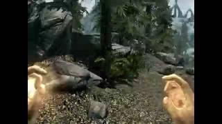 Skyrim , прохождение за мага часть 2
