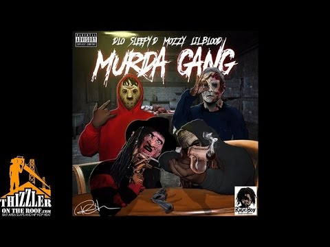 D-Lo ft. Sleepy D, Mozzy & Lil Blood - Murda Gang [Thizzler.com]