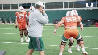 Spring Ball 2017   Canes Football   Stacy Searels Mic'd Up