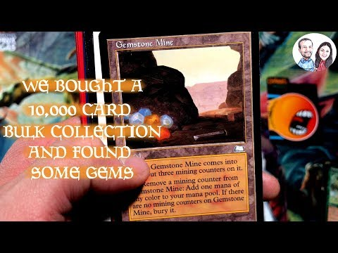 MTG 10,000 Card Bulk Collection - We Found Some Cool Stuff!