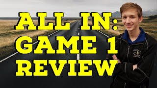 ALL IN: Game 1 Review | Road to 2000 - Caleb Denby