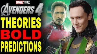 Avengers 4 Predictions: Loki Is ALIVE