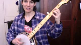 Little Cabin Home On The Hill in D - Excerpt from the Custom Banjo Lesson from The Murphy Method