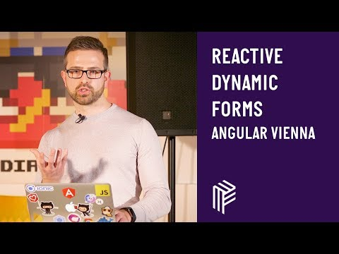 Thumbnail for Angular Vienna, Reactive dynamic Forms, January 2019
