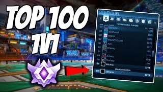 Top 100 1v1 | SECURED Grand Champion Title! (Rocket League Gameplay)