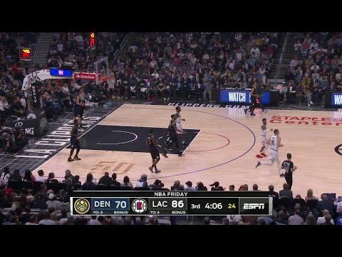 3rd Quarter, One Box Video: LA Clippers Vs. Denver Nuggets
