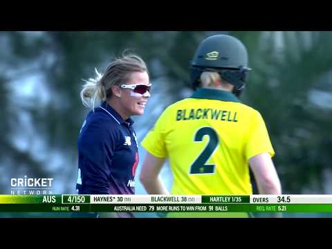 Australia v England - First Women's Ashes ODI