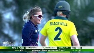 Australia v England - First Women