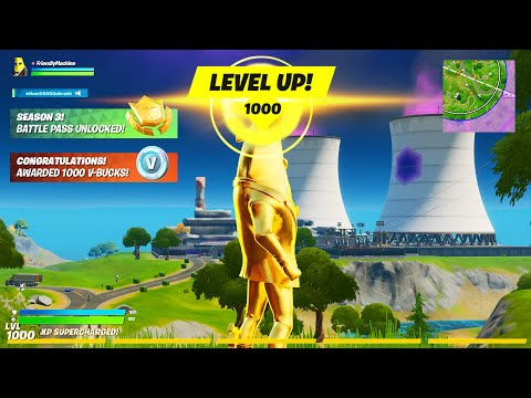 How To LEVEL UP FAST Before Season 3 In Fortnite! GOLD AGENT PEELY FULLY UNLOCKED GUIDE! (XP Glitch)