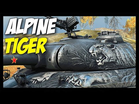 ► Alpine Tiger - Special Tier 8 Premium! - World of Tanks WZ-111 Alpine Tiger Gameplay thumbnail