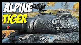 ► Alpine Tiger - Special Tier 8 Premium! - World of Tanks WZ-111 Alpine Tiger Gameplay